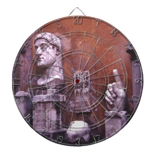 Sculpted Body Parts  Colossus of Constantine Rome Dartboards