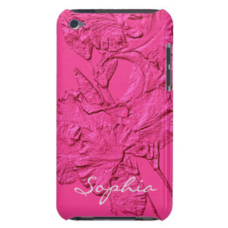 Sculpted Iris Petals, iPod Touch 4g Case Barely There iPod Cases