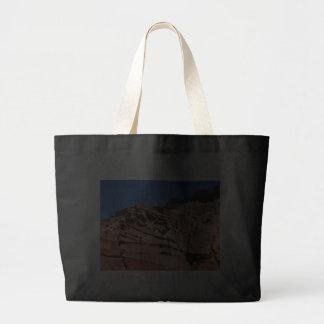 Sculpted sandstone, Los Gatos anchorage Canvas Bag