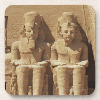 Sculpture at Abu Simbel -Cairo, Egypt Coaster