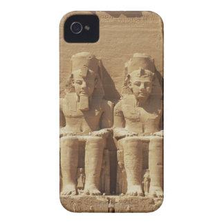 Sculpture at Abu Simbel -Cairo, Egypt iPhone 4 Cover