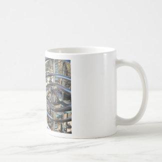 Sculpture in Sedona, Arizona Basic White Mug
