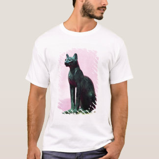 Sculpture of a cat, Late Period T-Shirt