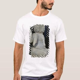 Sculpture of Brahma with four faces T-Shirt