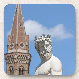 sculpture of Neptune on Fontana di Nettuno Coaster