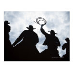sculpture that welcomes you to Dodge City Kansas 2 Postcard