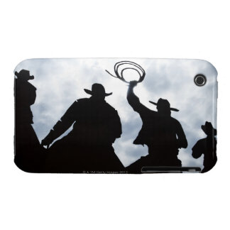 sculpture that welcomes you to Dodge City Kansas iPhone 3 Case-Mate Cases