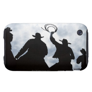 sculpture that welcomes you to Dodge City Kansas Tough iPhone 3 Cover