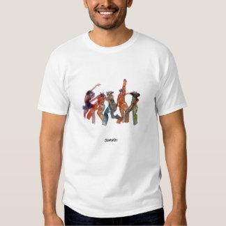 Sculpture title: Jammin_1700, Jammin T Shirts