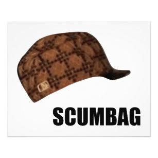 Scumbag Steve Hat Meme Flyer