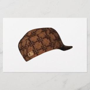 Scumbag Steve Hat Meme Stationery