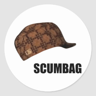 Scumbag Steve Hat Meme Sticker