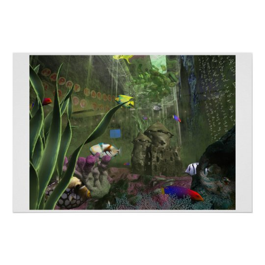 Scummy Fishtank Poster