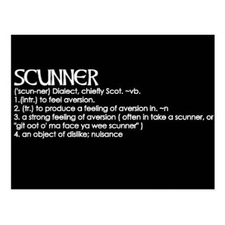 Scunner Postcard
