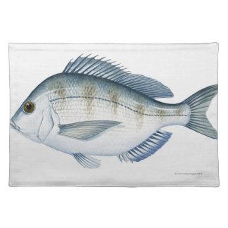 Scup Fish Placemat