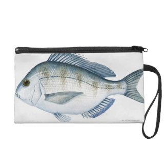 Scup Fish Wristlet Purses