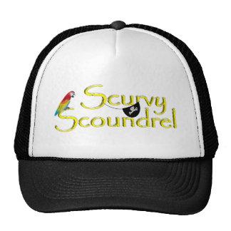 SCURVY SCOUNDREL TRUCKER HATS