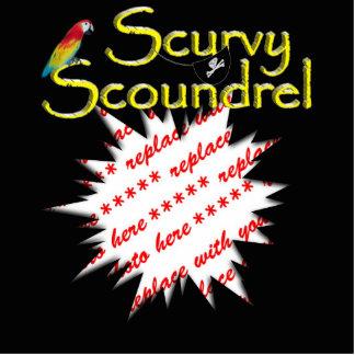 Scurvy Scoundrel Standing Photo Sculpture