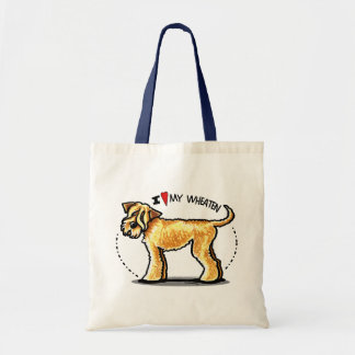 SCWT Wheaten Terrier Lover Budget Tote Bag