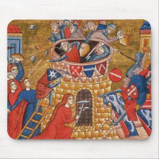Scythian women besieging their enemies mouse mat
