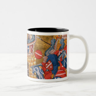 Scythian women besieging their enemies Two-Tone coffee mug