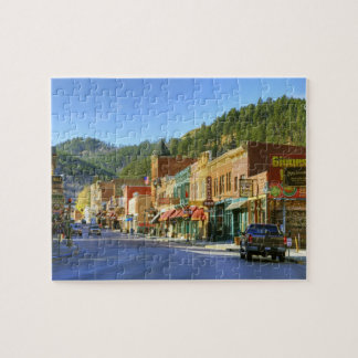 SD, Deadwood, Historic Gold Mining town Jigsaw Puzzle