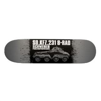 Sd.Kfz. 231 (8-Rad) Custom Skateboard