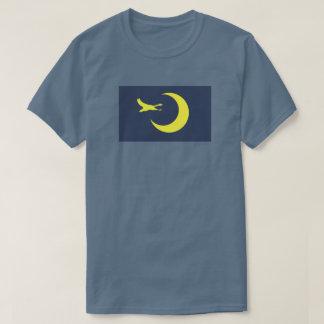 SD; N Migratory birds planet flag shirt