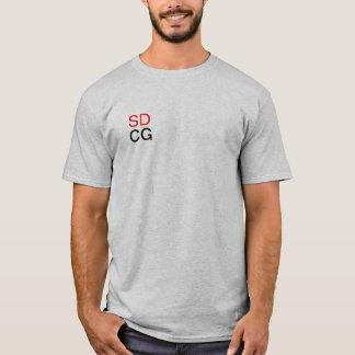 sdcg super duper cool guys shirt