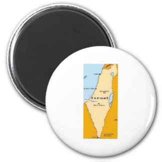 Sderot In Israel 6 Cm Round Magnet