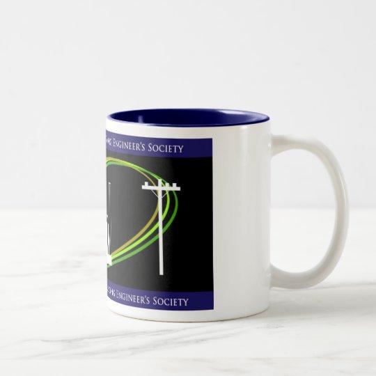 SDG&E Young Engineer's Society Two-Tone Coffee Mug