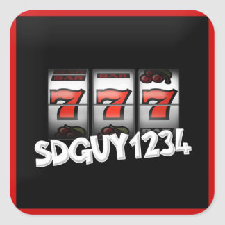 SDGuy Logo Stickers