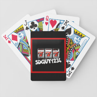 SDGuy Playing Cards
