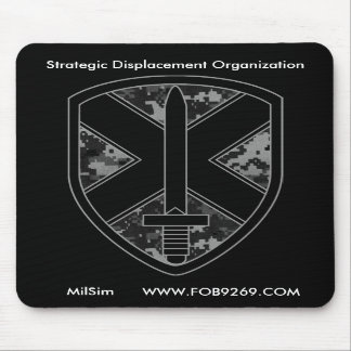 SDO MilSim Team Logo Mousepad