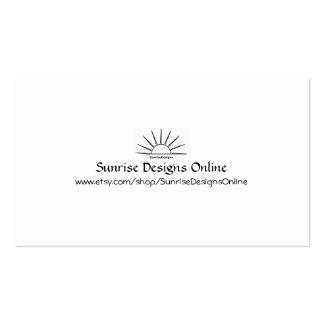 SDO Percent Off Card Business Card Template