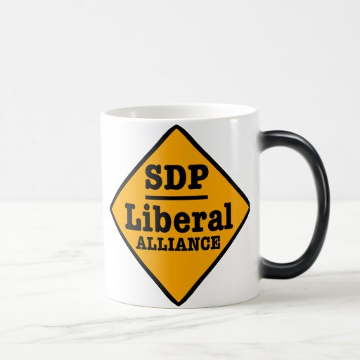 SDP Liberal Alliance Sign Coffee Mug