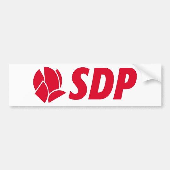 SDP Stranka demokratskih promjena Bumper Sticker