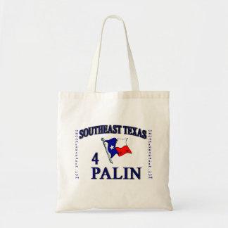 SE Texas4Palin Tote Budget Tote Bag
