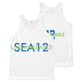 SEA12 FAN TANK All-Over PRINT TANK TOP