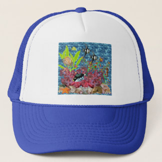 Sea 2 trucker hat