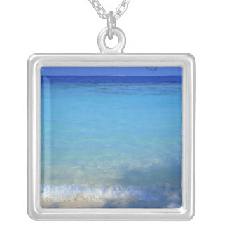 Sea 3 silver plated necklace