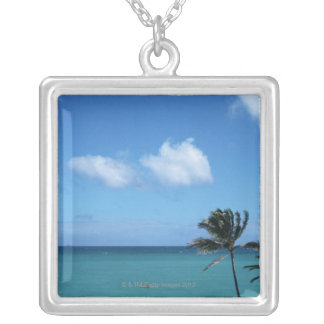 Sea 5 silver plated necklace