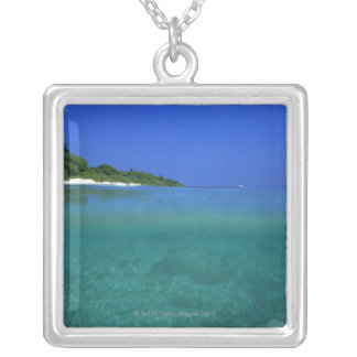 Sea 7 silver plated necklace