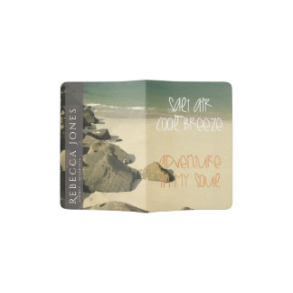 SEA ADVENTURE COOL BREEZE TRAVEL QUOTE MONOGRAM PASSPORT HOLDER