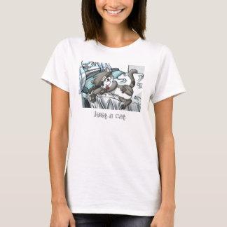 sea-air-darker2, Just a cat T-Shirt