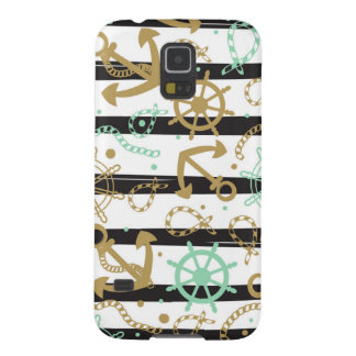 Sea Anchor Pattern Cases For Galaxy S5