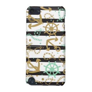 Sea Anchor Pattern iPod Touch (5th Generation) Cover