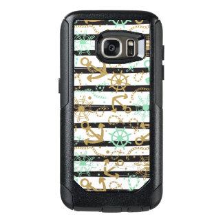 Sea Anchor Pattern OtterBox Samsung Galaxy S7 Case