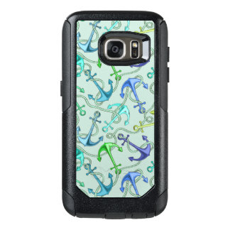 Sea Anchors And Rope Pattern OtterBox Samsung Galaxy S7 Case