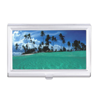 Sea And Island, Indonesia Business Card Holder